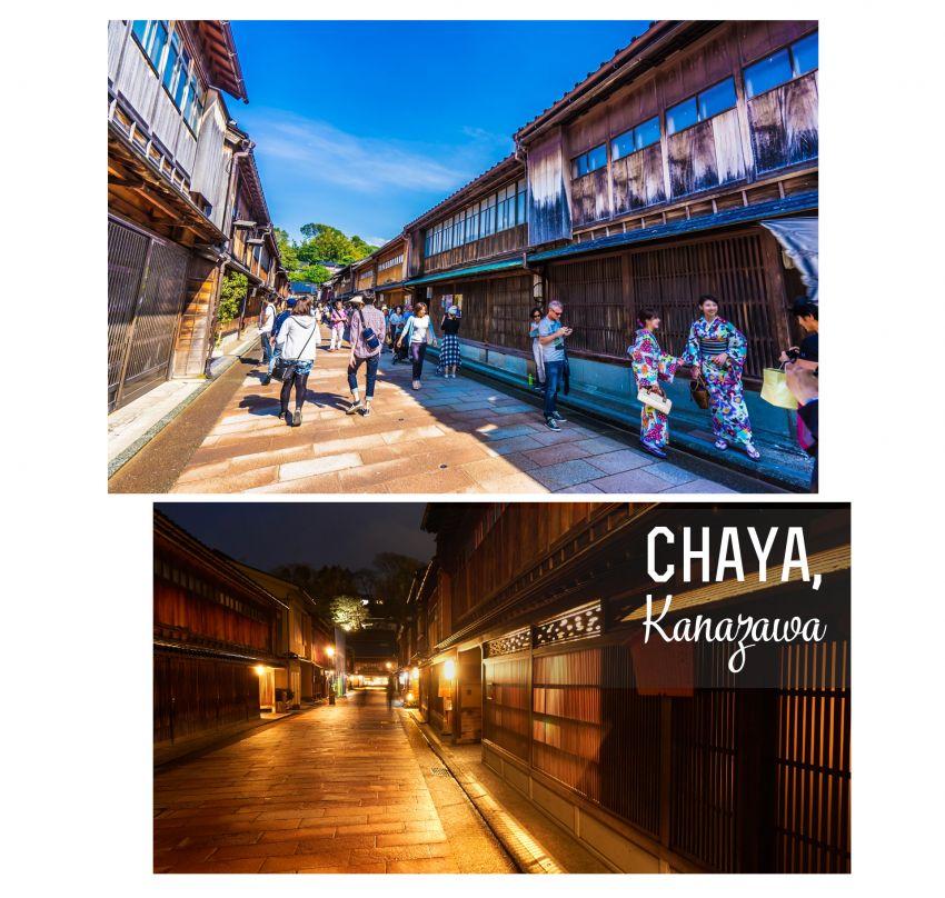 Những khu phố cổ đẹp nhất tại Nhật Bản