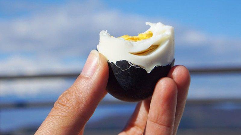 Thực hư về quả trứng đen trường sinh bất lão của người Nhật Bản